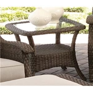 Morris Home Furnishings Tuscany Tuscany Outdoor End Table