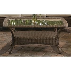 Morris Home Furnishings Tuscany Tuscany Outdoor Cocktail Table