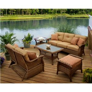 Agio Veranda--Agio 4 Piece Outdoor Chat Set