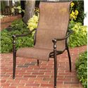 Agio Willowbrook  Sling Bucket Dining Chair - Item Number: ADQ30600P03