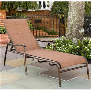 Agio Willowbrook  Aluminum Sling Chaise