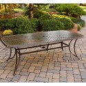Agio Willowbrook  Cast-Top Dining Table - Item Number: ALQ44715P03