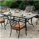 Agio Willowbrook  Outdoor Table - Item Number: ALQ72617P01