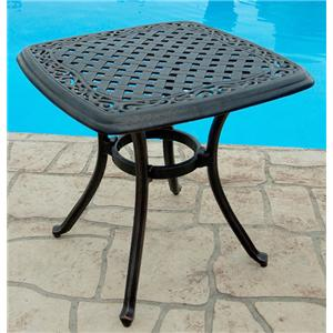 Agio Willowbrook  Square Cast Top End Table