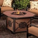 Agio Willowbrook  Aluminum Gas Fire Pit  - Item Number: ARC01601P01