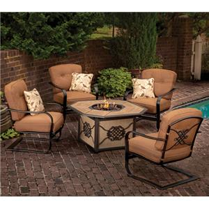 Agio Willowbrook  Fire Pit Set