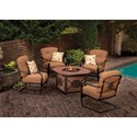 Agio Willowbrook  Fire Pit Set - Item Number: Willowbrook Fire Pit Set 2