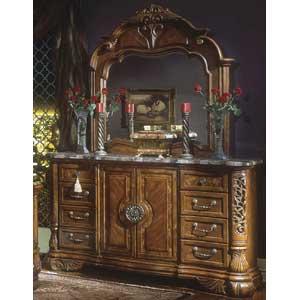 Michael Amini Excelsior Dresser & Mirror
