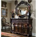 Michael Amini Essex Manor Sideboard - Shown with Sideboard Mirror