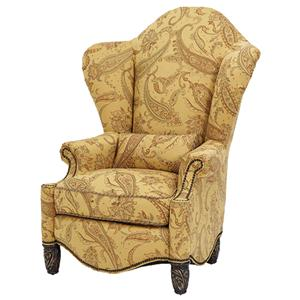 Michael Amini Essex Manor High Back Wing Chair