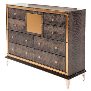 Michael Amini Hollywood Loft Upholstered Dresser