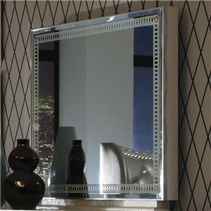 Michael Amini Hollywood Swank Rectangle Dresser Mirror