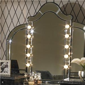 Michael Amini Hollywood Swank Vanity Mirror