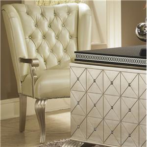 Michael Amini Hollywood Swank Desk Chair