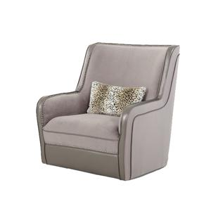 Michael Amini Hollywood Swank Swivel Chair