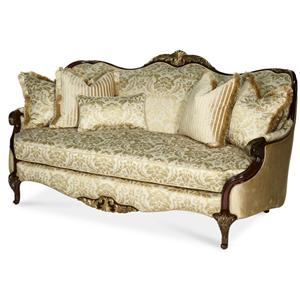 Michael Amini Imperial Court - CHPGN Wood Trim Sofa