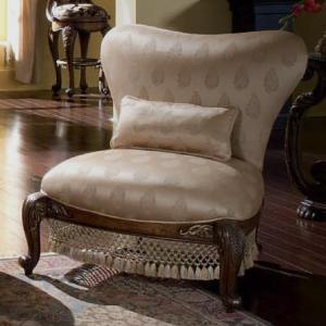 Michael Amini Oppulente Armless Sweetheart Back Chair