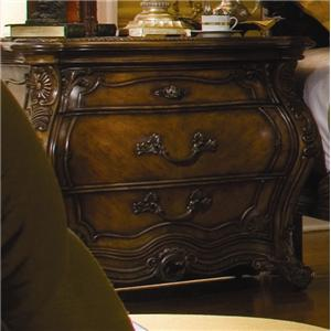 Michael Amini Palais Royale Three-Drawer Nightstand