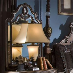 Michael Amini The Sovereign Nightstand Mirror