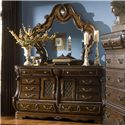 Michael Amini The Sovereign Dresser and Mirror - Item Number: 57050+57060
