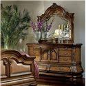 Michael Amini Tuscano Biscotti Traditional Dresser w/ Mirror