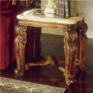 Michael Amini Tuscano End Table