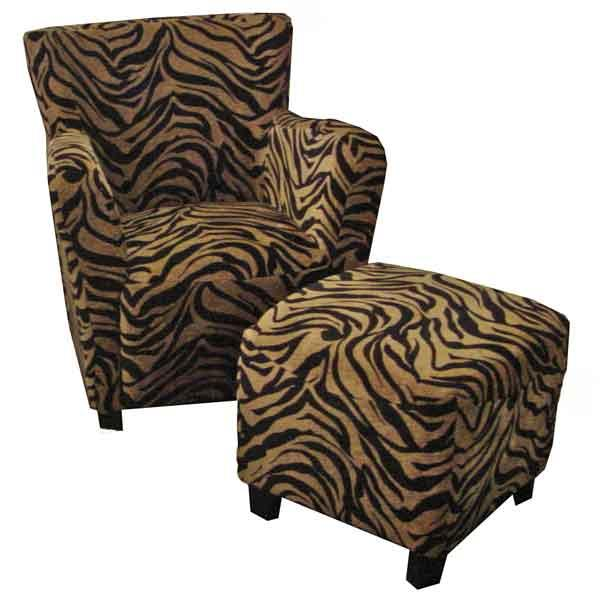 AIF Trading Group 226 Club Chair Accent Chair - Item Number: 226 Tiger