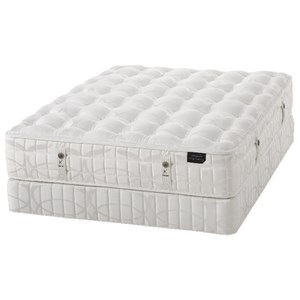 "Aireloom Bedding King Karpen Firm Queen 13.5"" Firm Luxury Mattress LP Set"