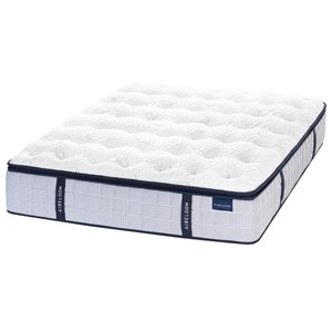 Aireloom Bedding Maritime Seaside Plush Queen Plush Coil on Coil Mattress