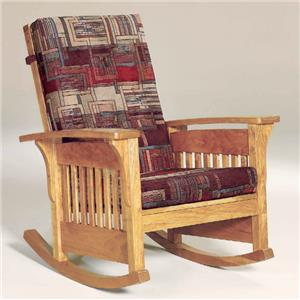 Bow Arm Rocking Chair