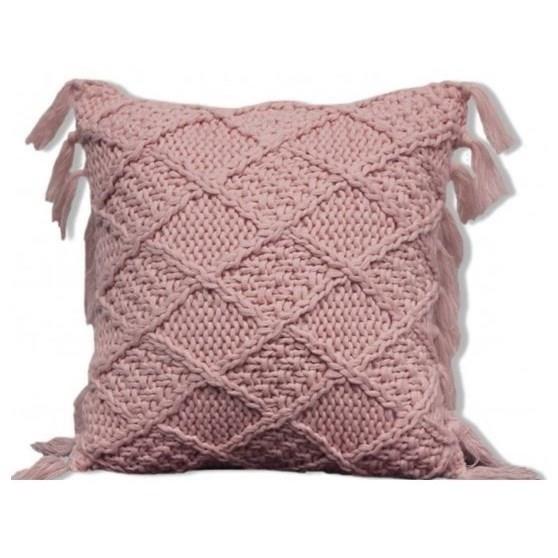 "Coachella 18"" Pink Cushion"
