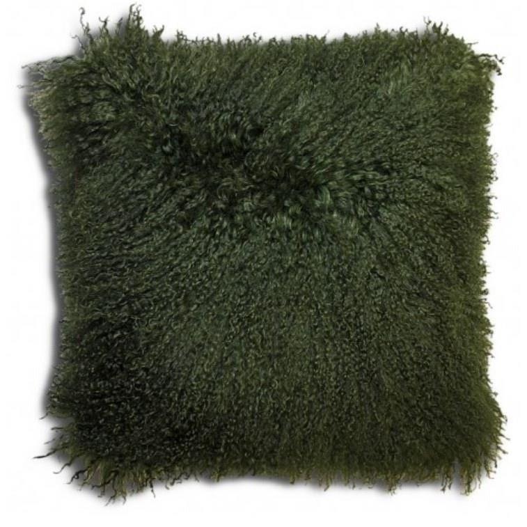 """Khulan Dark Green 16"""" Cushion"""