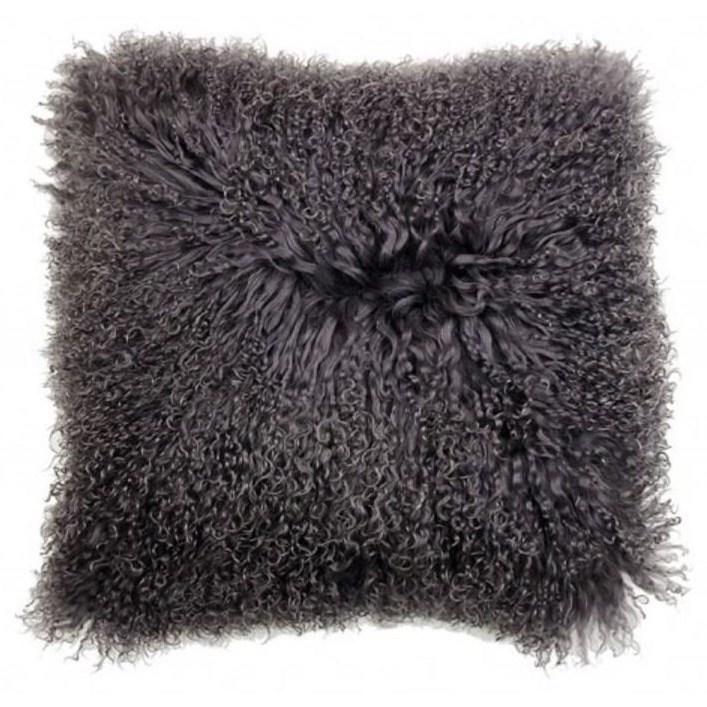 """Khulan Grey 16"""" Cushion"""