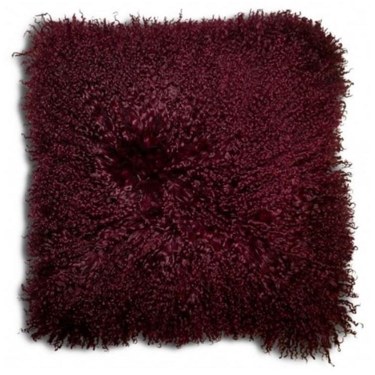 """Decorative Cushions Khulan Burgundy 16"""" Cushion at Stoney Creek Furniture"""
