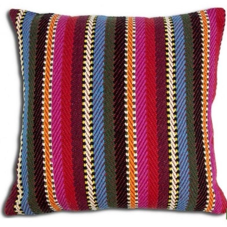 "Decorative Cushions Peruvian Paita 18"" Cushion at Stoney Creek Furniture"