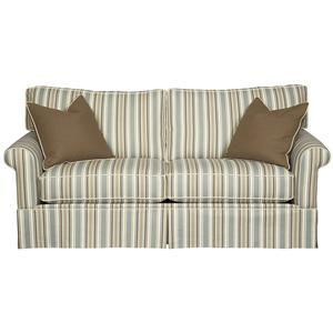 Alan White 127  Elegant Skirted Two Seat Sofa