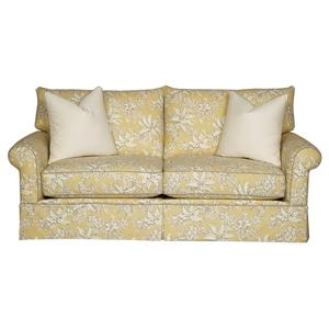 Alan White 13001 Smaller Two Seat Sofa with a Classic Cottage Style