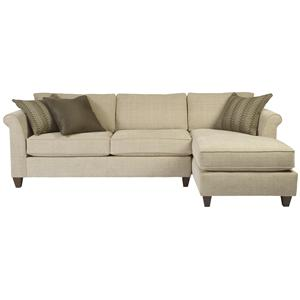 Alan White 235  Small Sectional Sofa with Chaise