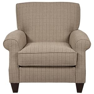 Alan White 347 Alan White Casual Stationary Accent Chair