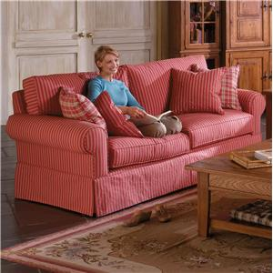 Alan White 37400 Two Over Two Casual Sofa