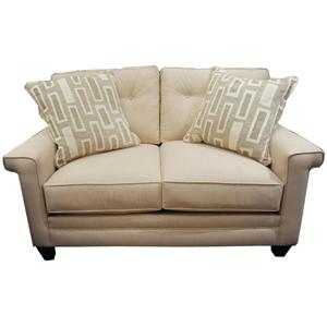 37800 Contemporary Loveseat by Alan White
