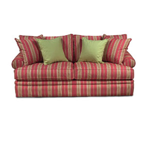 Alan White 696 Casual Uphholstered Stationary Sofa