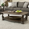 Albany 140 Antique Oak Coffee Table - Item Number: 140-COF-ANTOAK