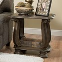 Albany 140 Antique Oak End Table - Item Number: 140-END-ANTOAK