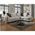 Albany Trounce Mica 2 pc. Sofa with Right Arm Facing Chaise - Item Number: GRP-OT-0374-SECTIONAL