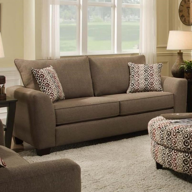 0416 Loveseat by Albany at A1 Furniture & Mattress