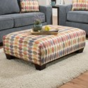 Albany 451 Accent Ottoman - Item Number: 0451-32-GENS-MilanoCarnival