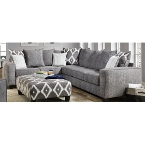 Albany 0464 2 Piece Sectional