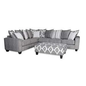 Albany Stonewash 2 Piece Sectional
