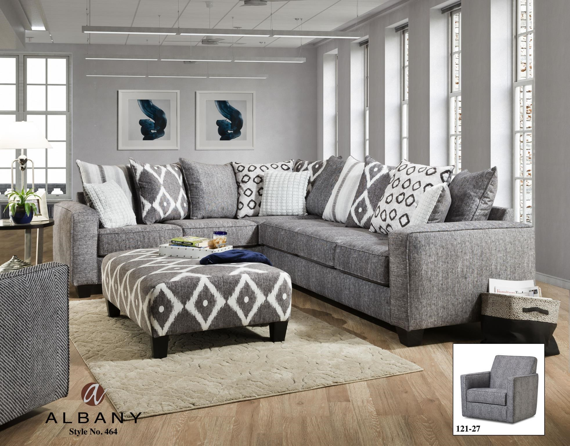 Albany 464 Two Piece Sectional - Item Number: 464